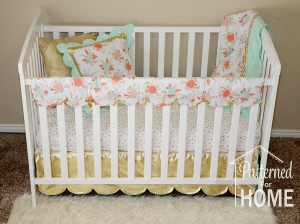 Crib With Skirt Teething Guard Pillow and Blanket Watermarked SMALL File